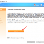 How to clean Visual Studio temporary files with WinUtilities Disk Cleaner?