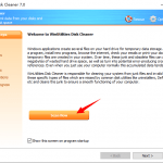 Removes junk files from your Windows PC and recovers disk space