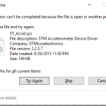 How to delete, move or rename a locked file in Windows?