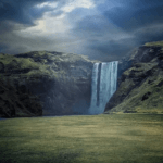 Free Background Waterfalls Nature Video Loop Animation