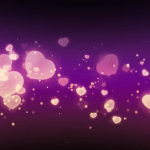 Hearts Love background HD Video for Wedding Animation