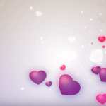 Love Shape Animation Video | Abstract Heart Background HD