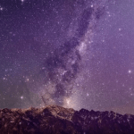 Mountains, wonders, starry sky and vast universe – Free Background Motion Loop