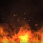Fire Flames Video Background Loop Footage With Music – FREE HD 1080p60