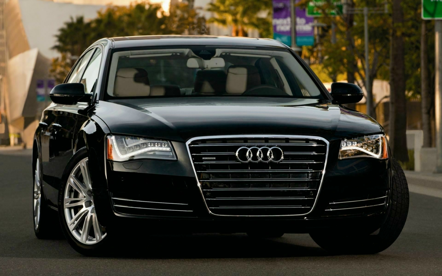 Audi A8 Tfsi E Hd Wallpapers Background Images Photos Pictures