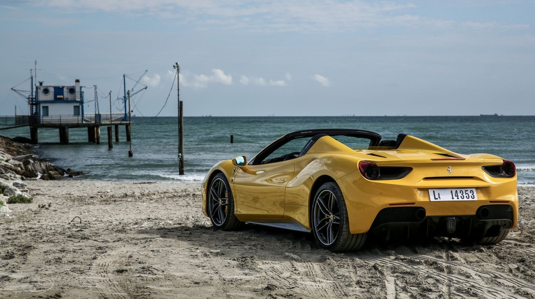 Ferrari 488 Spider Wallpapers Yl Computing