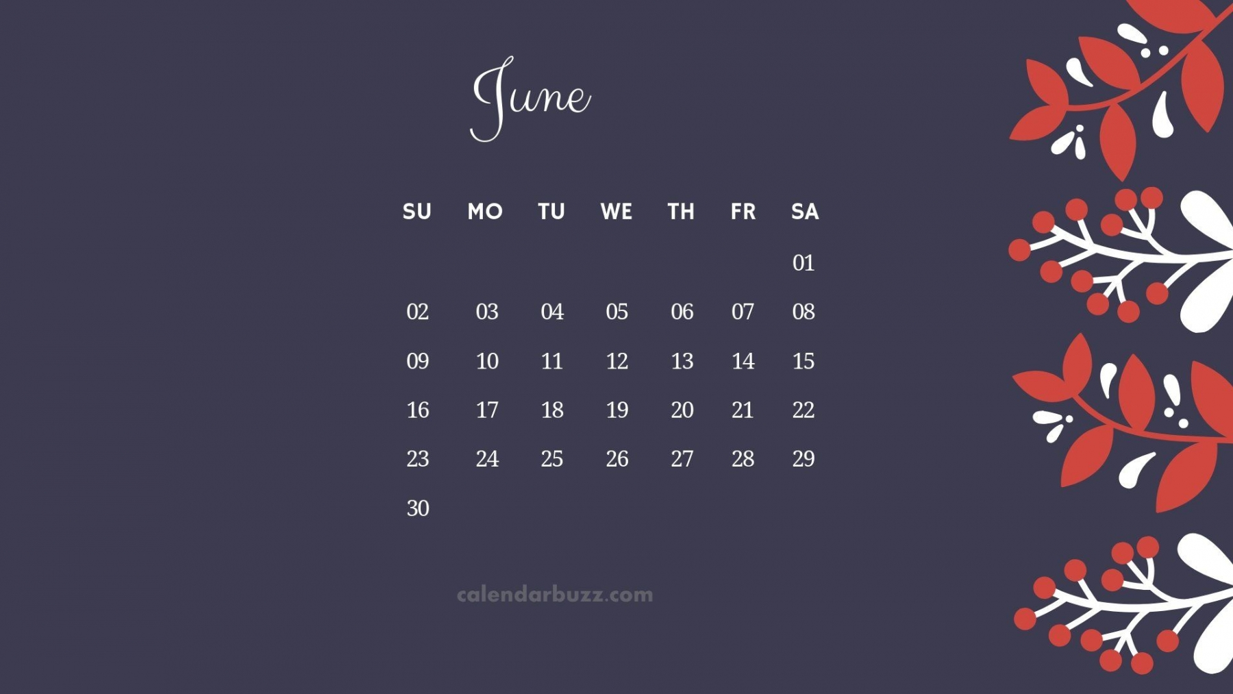 June 2019 Calendar HD Wallpapers and Background Images | YL