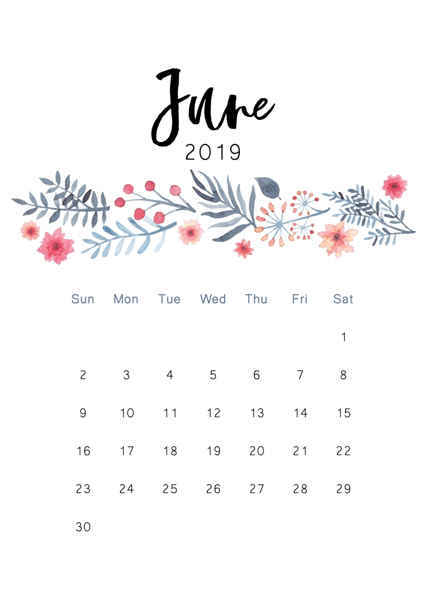 2019 June Calendar.June 2019 Calendar Hd Wallpapers And Background Images Yl Computing