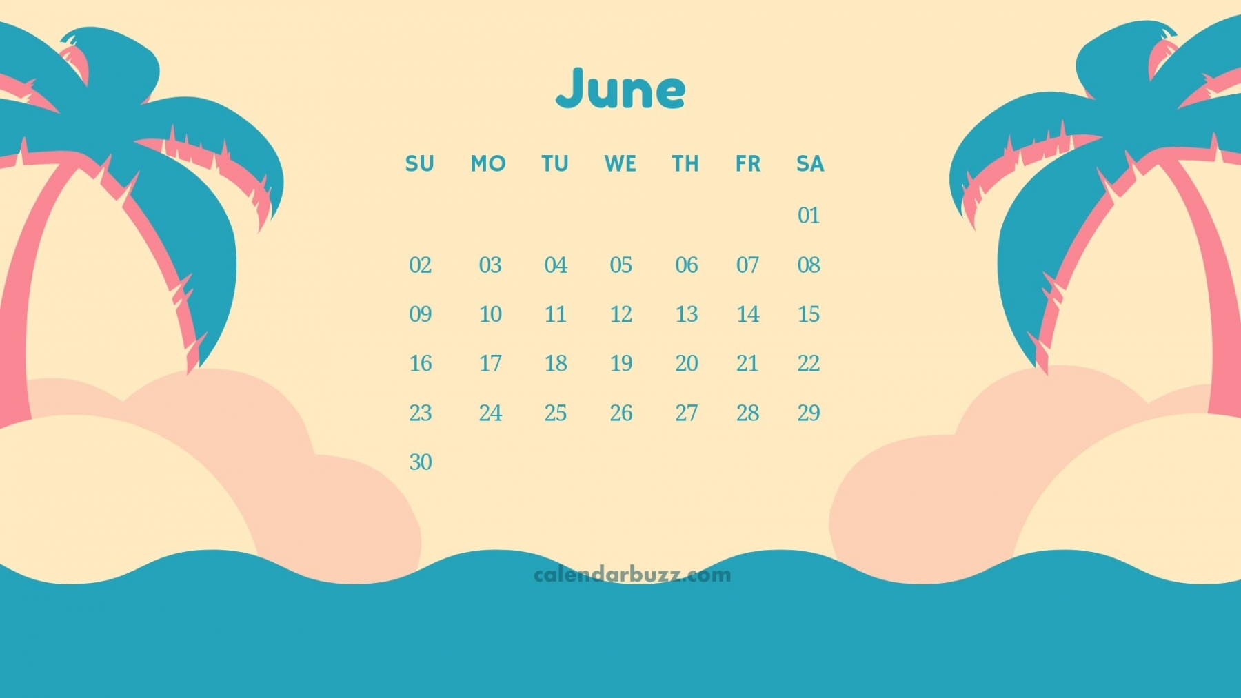 June 2019 Calendar HD Wallpapers and Background Images ...
