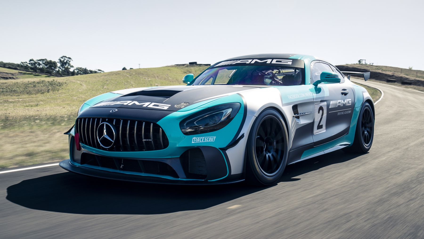 Mercedes AMG GT4 2019 HD Wallpaper and