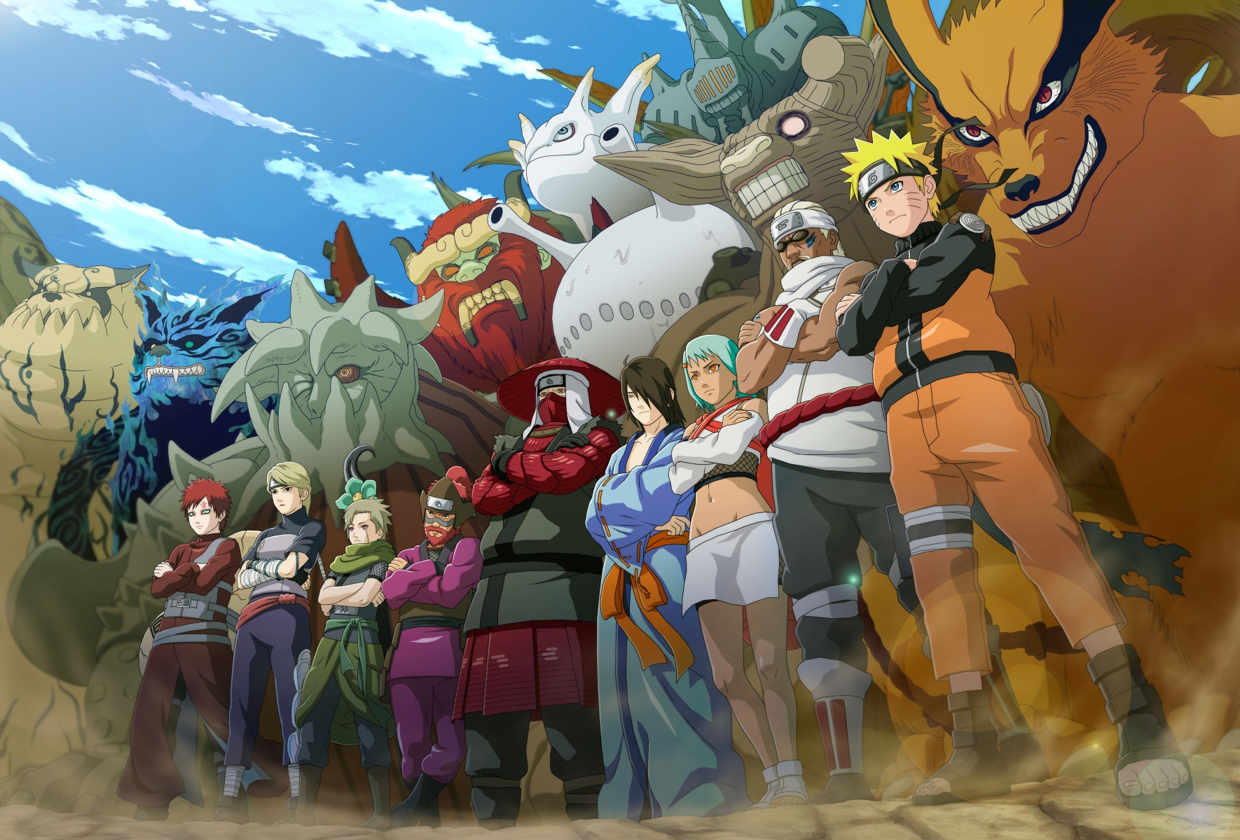 Naruto Anime HD Wallpaper Collection 1080P - Background HD