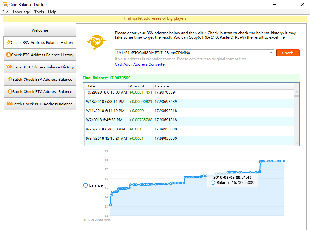 Coin Balance Tracker Pro | YL Computing