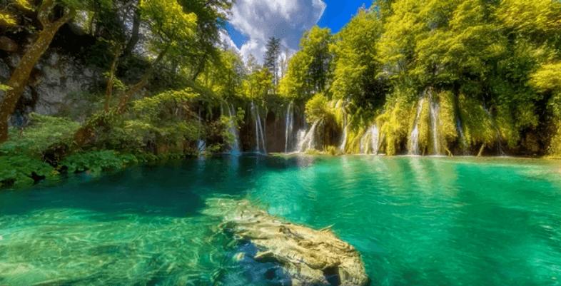 Plitvice Croatia Parks Lake Waterfall Live Wallpaper