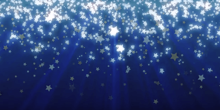 Falling Stars Background - Free Looping Star Background for