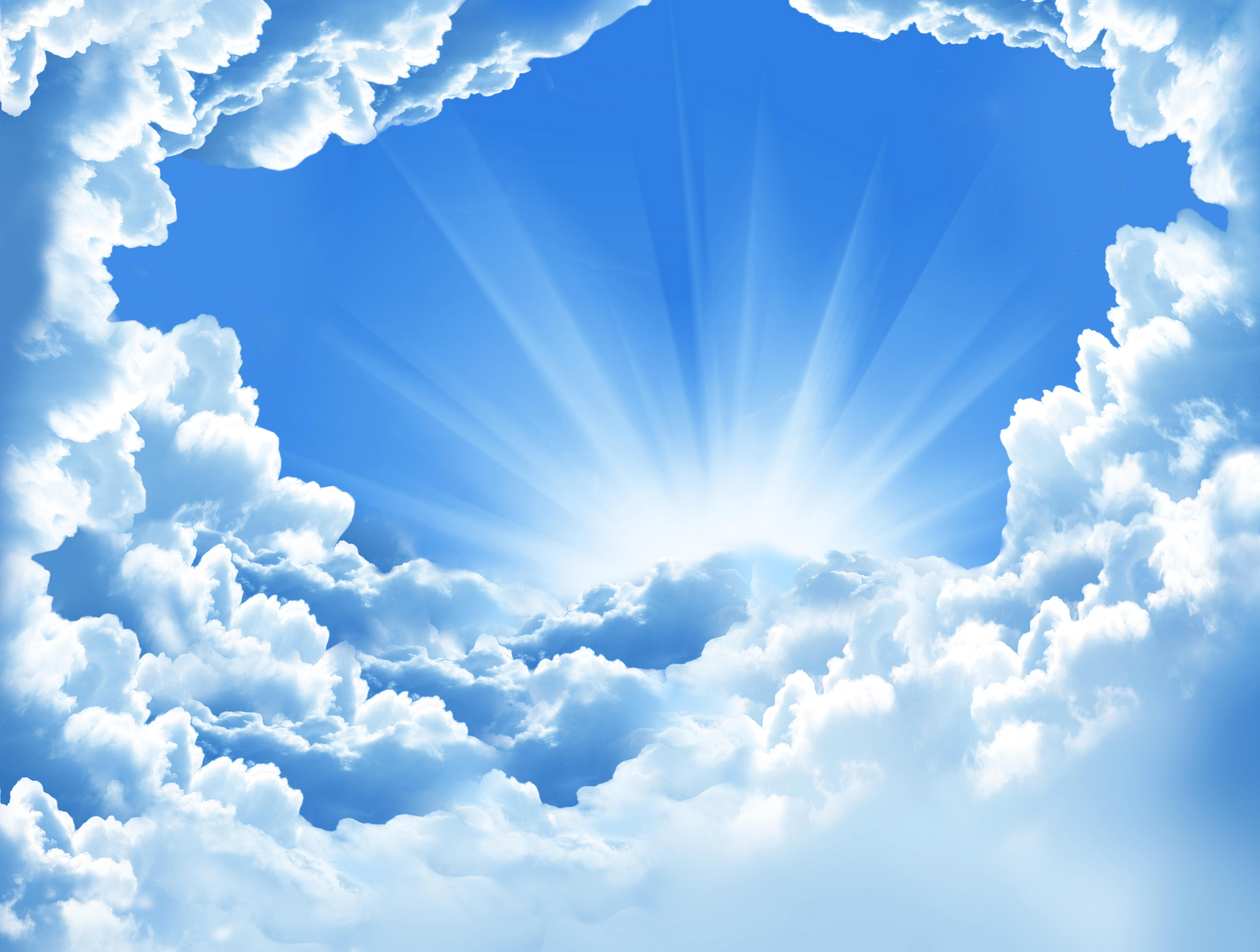 картинки красивого голубого неба мог, развернув машину