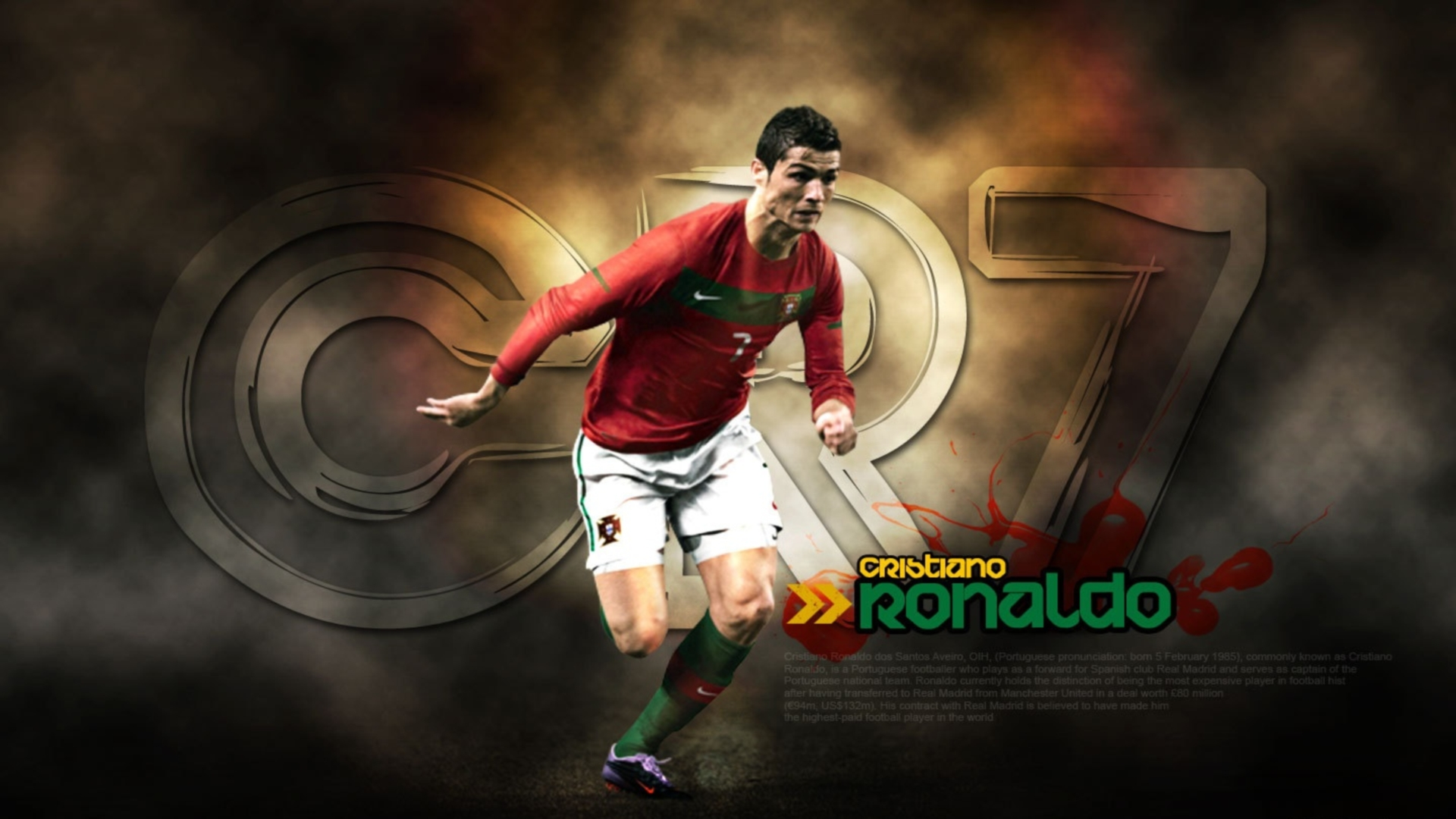 Cristiano Ronaldo Hd Wallpapers And Background Images Yl Computing