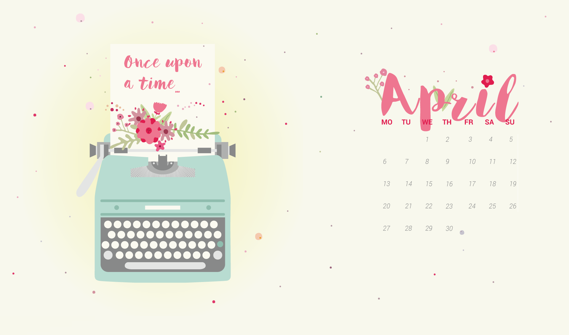 April 2020 Calendar Wallpapers Hd Background Images Photos
