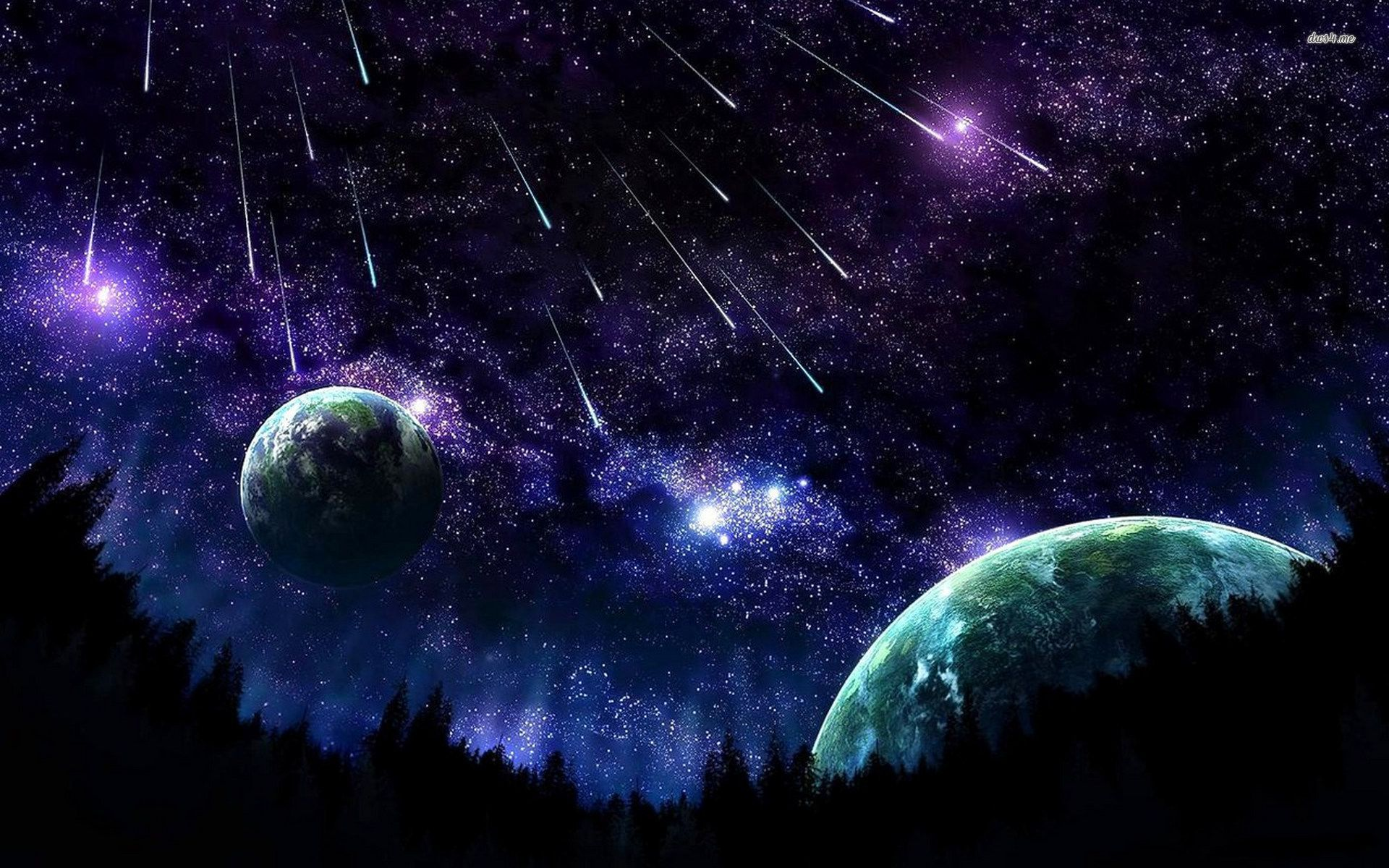 Night Sky Wallpapers Hd Background Images Photos Pictures Yl Computing