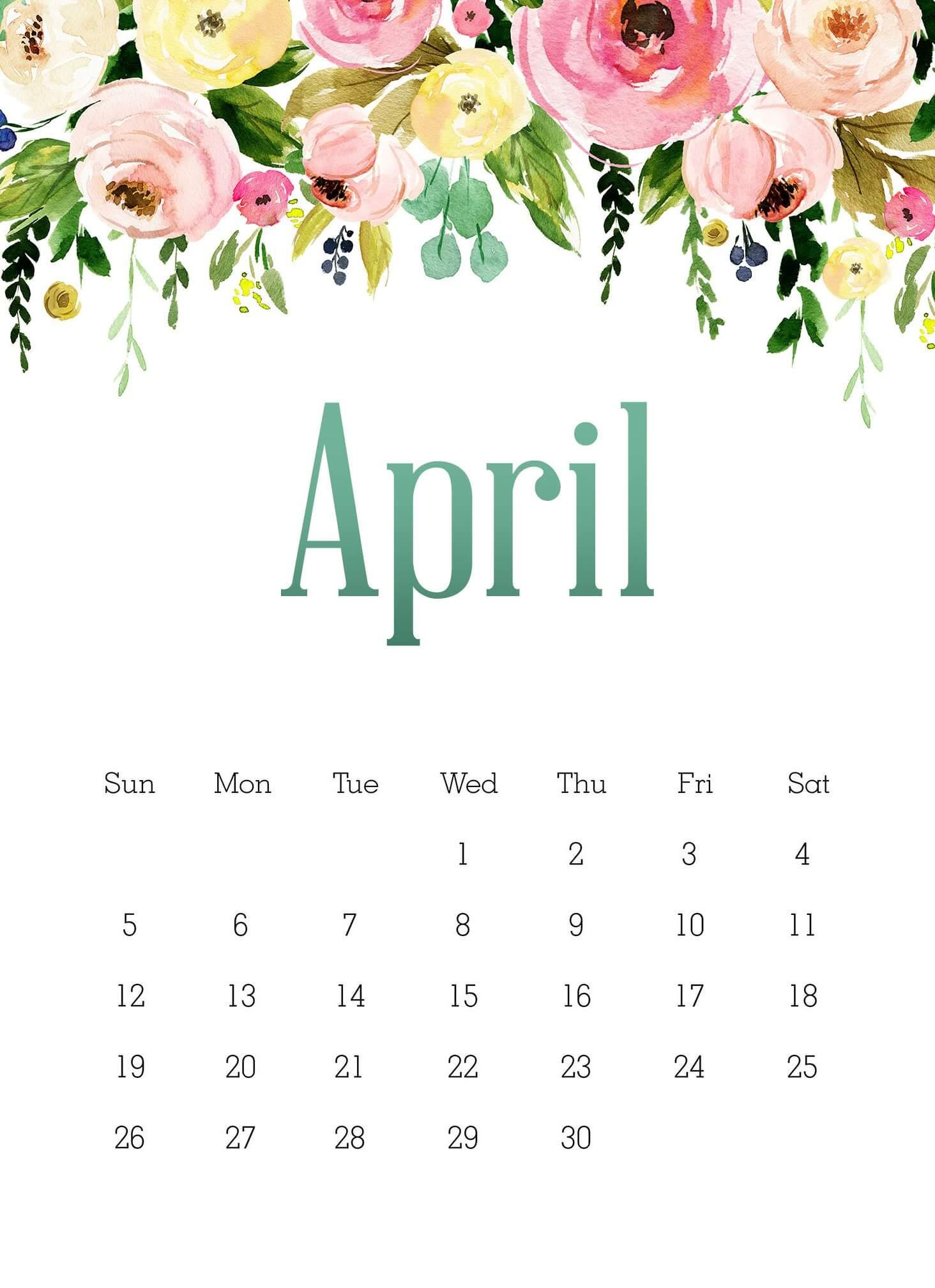 April 2020 Calendar Wallpapers   HD Background Images ...