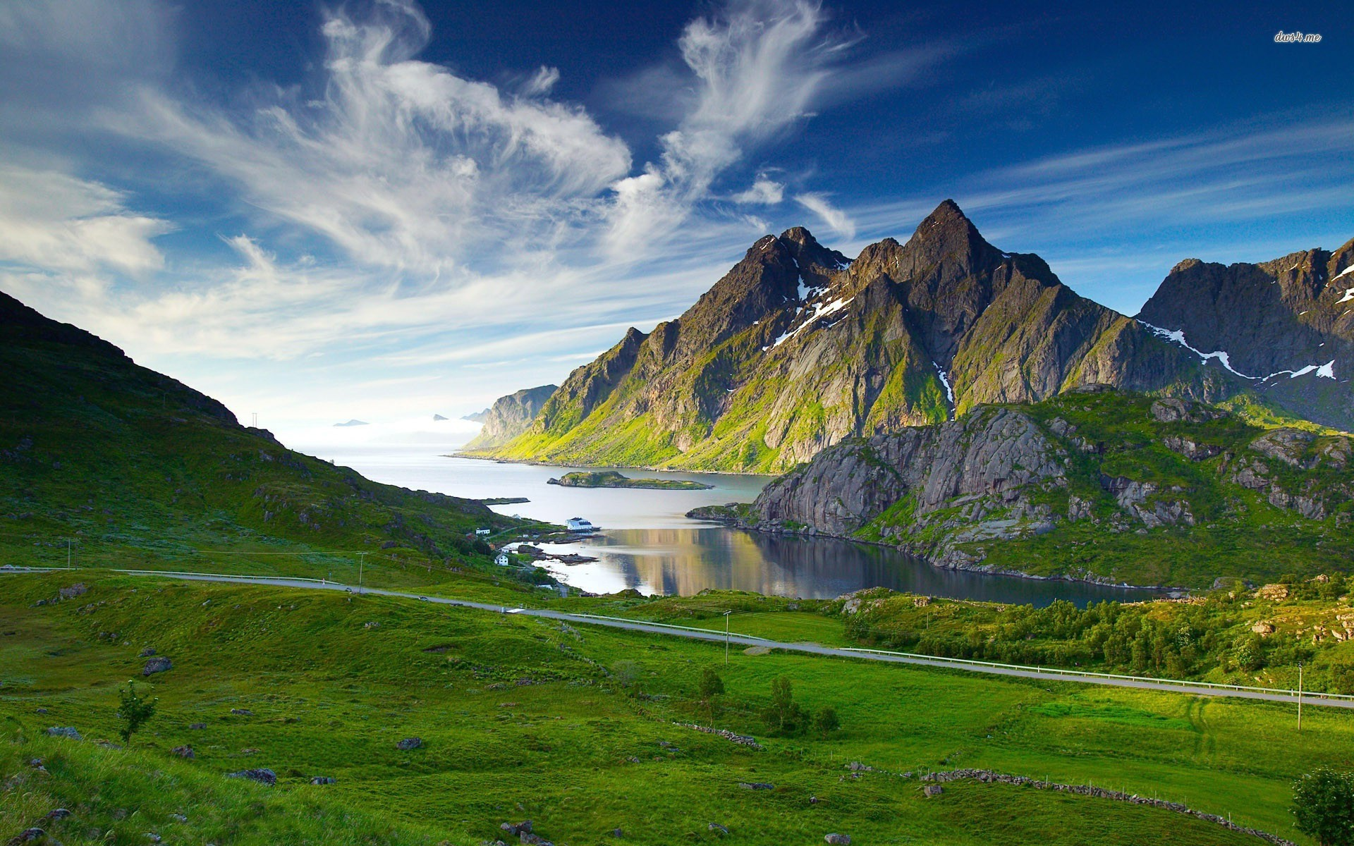 Mountain Landscape Wallpapers Hd Background Images Photos Pictures Yl Computing